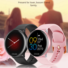FFYY-COLMI SKY 2 Smart Watch IP68 Waterproof Heart Rate Monitor Bluetooth Sport Fitness Tracker Men Smartwatch for IOS Android(China)