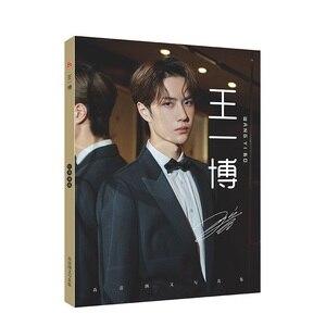 Image 3 - Affiche de peinture artistique Chen qingling, Xiao Zhan Wang Yibo, marque page, Album Photo
