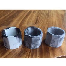 Creative Cement Pot Mold Concrete Multi-meat Pot Ce