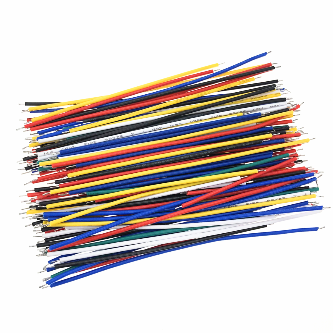 130PC 24AWG Breadboard Jumper Cable Wires Kit Tinning Double Tinned Component Pack Colorful 13 Types 10 Pcs each 5CM 8CM 10CM|Integrated Circuits| - AliExpress