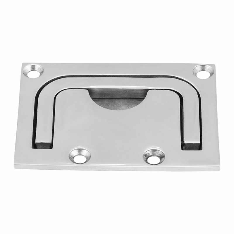 New Boat 316 Stainless Steel Flush Hatch Locker Cabinet Lift Pull Handle for Marine Yacht