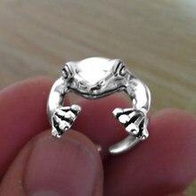 Bohemia vintage forma de sapo anel para mulheres unisex multi tamanho animal retro afirmação feminino festa personalidade dedo anel