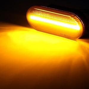 Image 5 - 2Pcs Led Dynamische Side Indicator Marker Signal Light Lamp Sequentiële Knipperlicht Voor Vw MK4 Jette Bora Golf 3 4 Lupo Passat