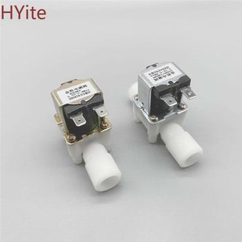 цена на 1/2 Plastic Solenoid Valve 12V 24V 220V Magnetic Washing Machine Dispenser Drinking Water Pneumatic Pressure Controller Switch