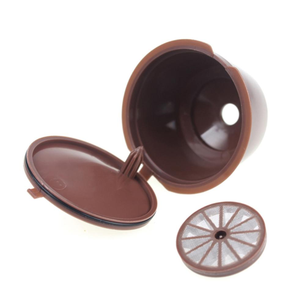 Coffee Filter Capsule Plastic Cup Capsule Refillable Reusable Compatible With Nescafe Dolce Gusto Kitchen Gadgets