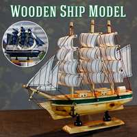 DIY Wooden Scale Model Ship Assembling Building Kits Ship Model Wooden Sailboat Toys Sailing Model Assembled Wooden Kit Kid Gift