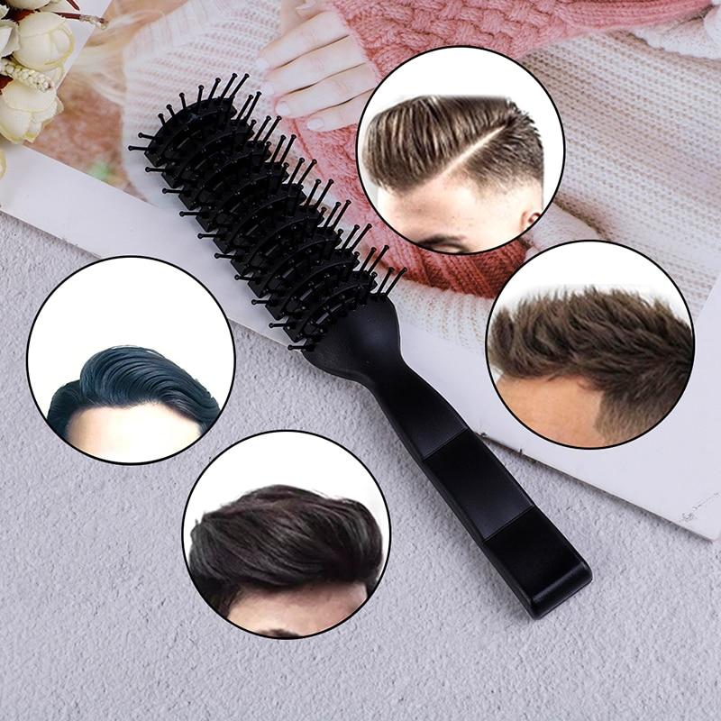 Women Plastic Nylon Massage Hair Care Styling Hair Combs Hair Accessories Hair Comb Curling Hairbrush Hair Brushes Big Bent Comb