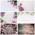 Фоны для фотосъемки с изображением розовых цветов и дерева компьютерная печать фон для влюбленных День Святого Валентина День рождения фот...