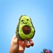 Горячая Распродажа плюшевые игрушки авокадо маленькая Подвеска Брелоки чучело животные Дети игрушки декорация для дома подарки на Рождество День рождения