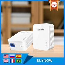 Tenda PH3 AV1000 Gigabit Powerline адаптер AV1000 Ethernet PLC Адаптер Комплект IPTV Homeplug AV2 Gigabit сетевые адаптеры удлинитель