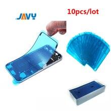 10 шт., водонепроницаемые наклейки для iPhone 6, 6S, 7, 8 Plus, X, XS, 11 Pro, Max, XR, 3 м, ЖК-дисплей, рамка, уплотнительная лента, клей, ремонт