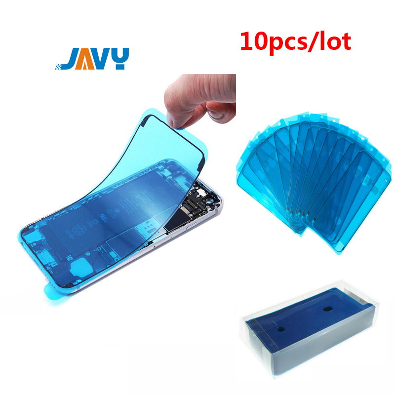 10pcs Waterproof <font><b>Sticker</b></font> For iPhone 6 6S 7 8 Plus X XS 11 Pro Max XR 3M LCD Display Frame Bezel Seal Tape Glue Adhesive Repair image