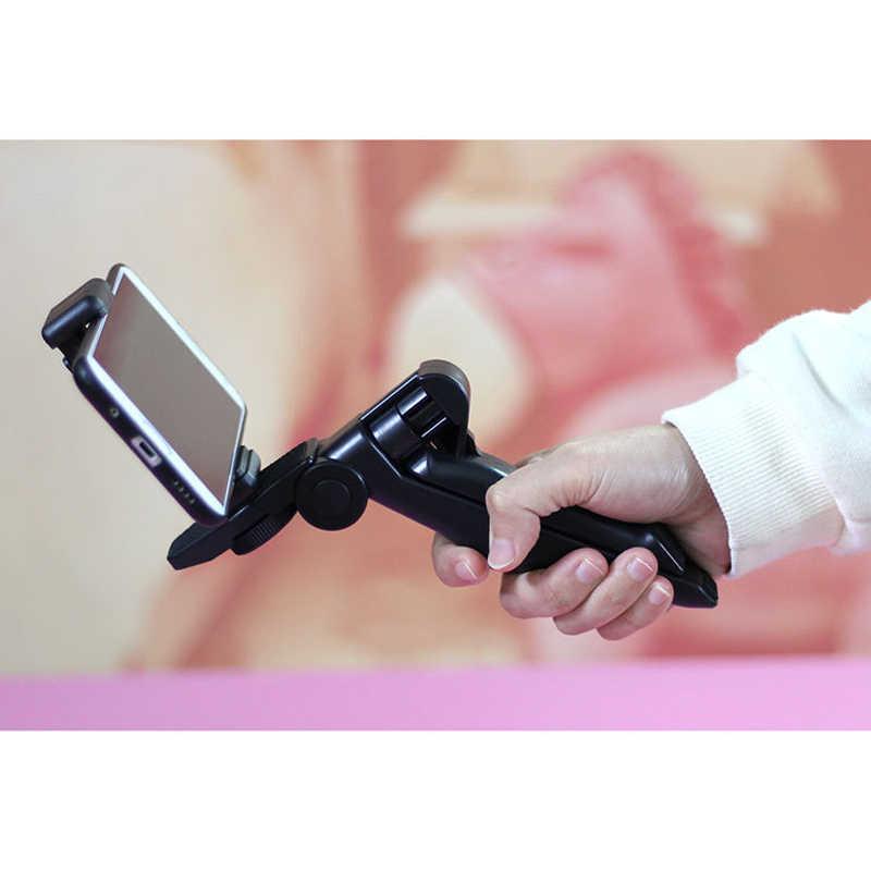 สมาร์ทโฟน Selfie วิดีโอ YouTube แต่งหน้าแสงกล้องขาตั้ง/ผู้ถือโทรศัพท์/Bluetooth สำหรับ iPhone 11 Xiaomi Samsung Huawei