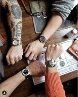 DIDUN Men Top Brand Luxury Automatic Mechanical Watch Military Business Male WristWatch Waterproof 30m stainless Watchstrap