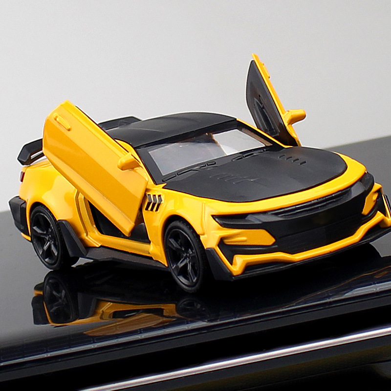 Simulation New Alloy Car Model Sports Car Model Camaro Toy Car Car Accessories Cake Ornaments