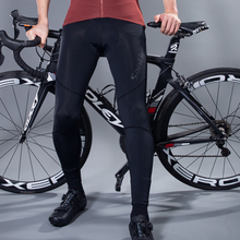 Cycling-Pants Santic Padded Riding Summer Men with Coolmax MTB Bottoms Asian-Size