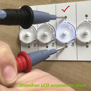 Image 2 - Kit LED de recambio para lámpara, Kit de reparación de retroiluminación LED, 15, 17, 19, 22, 24 pulgadas, 27 pulgadas, TV LCD, 3V, 6V, 50 unidades por lote, 100%