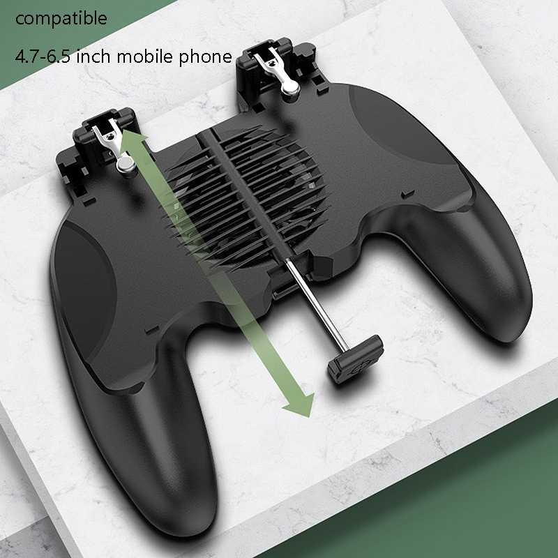 H13 встроенный вентилятор охлаждения встроенный вспомогательный рукопожатие геймпад, подходит для PUPG игровых плагинов моделей
