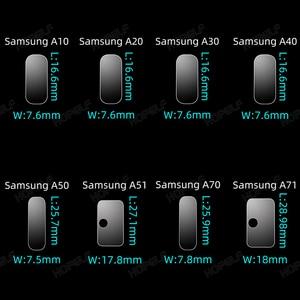 Image 4 - Szkło hartowane dla Samsung A51 A50 A70 ochraniacz ekranu ze szkła A51 szkło obiektywu dla Samsung Galaxy A50 A51 A10 A01 A30 A40 A20 A71