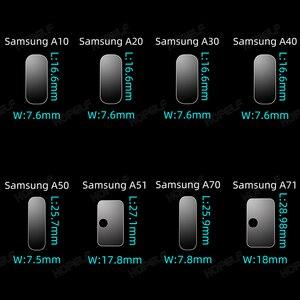 Image 4 - Vetro temperato per Samsung A51 A50 A70 Protezione Dello Schermo di Vetro A51 Obiettivo di Vetro per Samsung Galaxy A50 A51 A10 A01 a30 A40 A20 A71