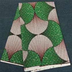 Proszę kliknąć na zielony dashiki kamień wosk Ankara tkaniny wysokiej jakości afryki druku tkaniny tissu africai 6 metrów za dużo materiał tkanina dashiki