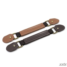23.5cm Faux Leather Short Bag Handle Strap Belt for DIY Handbag Sewing Accessory Brown, Coffee