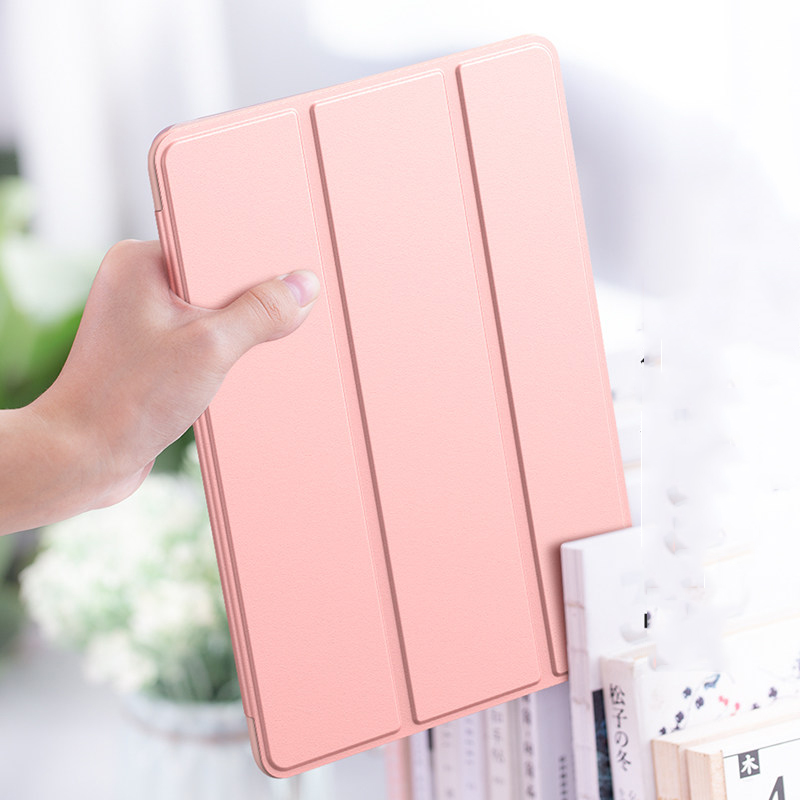 Tablet Case For Apple iPad 10 2 2020 8th generation Tri fold Flip PU Leather Cover