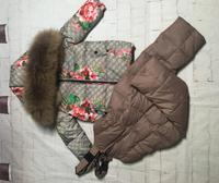 on sale raccoon fur 2019 winter jacket child suit jacket+pant twinset boy & girl ski suits children down jacket outerwear parka