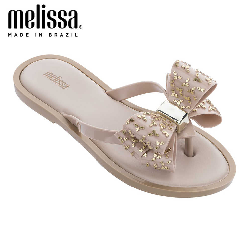 Melissa Flip Flop Zoete Boog Vrouwen Slippers 2020 Mode Vrouwen Gelei Schoenen Slippers Slipper Melissa Adulto Vrouwelijke Dame Schoenen