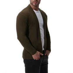 Men  Sweaters  2019 Stand Collar Man Sweater Clothes