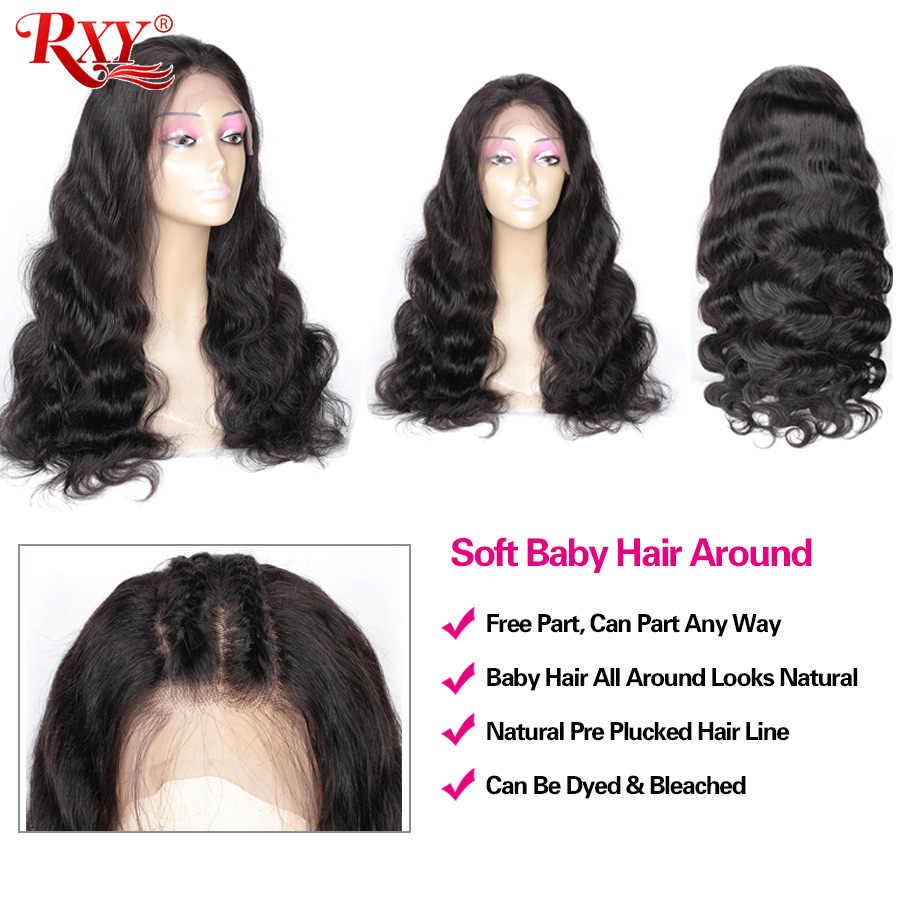13X6 Renda Depan Rambut Manusia Wig 360 Renda Frontal Wig Rxy Remy Body Wave Renda Depan Wig 13X4 Brazilian Rambut Manusia Wig untuk Wanita