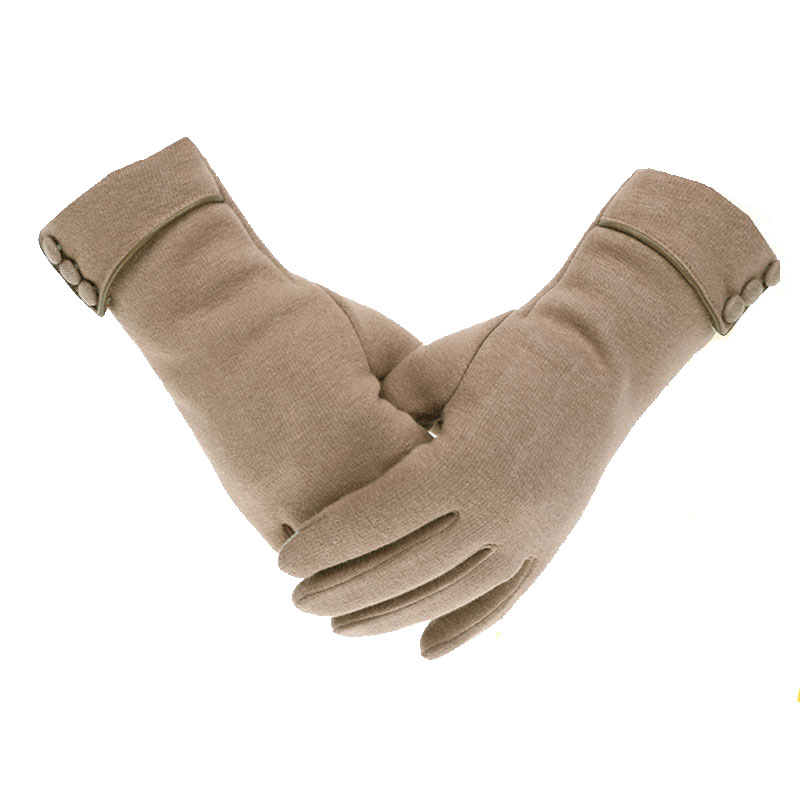 Fashion Warm Winter Gloves Women Touch Screen Gloves Velvet Thickening Mittens Driving Gloves G007