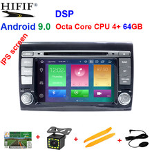 IPS 2 Din Android 9 reproductor Multimedia para Fiat Bravo 2007, 2008, 2009, 2010, 2011, 2012 DVD Automotivo radio GPS 2 GB RAM DSP(China)