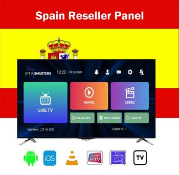 Reseller Panel iptv Spain control panel with credits contains 8000+Live for IPTV resellers IPTV M3U Netherland French