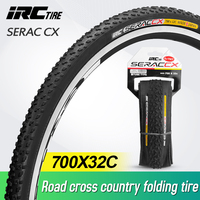 IRC SERAC CX 700*32C road cyclocross tire off road road bike tire bicycle tire 120 TIP bicycle vacuum tire|Bicycle Tires| |  -
