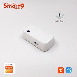 Image 1 - Smart9 Licht Sensor Werken Met Slimme Leven App, Verlichting Sensor Aangedreven Door Tuya