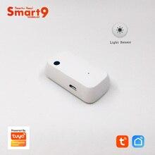 Smart9 Sensore di Luce di Lavoro con La Vita Intelligente App, Sensore di Illuminazione Alimentato da Tuya