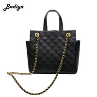 Big Handbag Women Solid Color Diamond Lattice Crossbody Bag Elegant Phone Coin Card Purse Shoulder Bag Female Messenger Bag