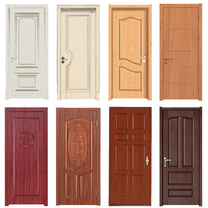 Wood Grain Door Sticker Waterproof Adhesive Wallpaper Wooden Door Renovation Cabinet Furniture Home