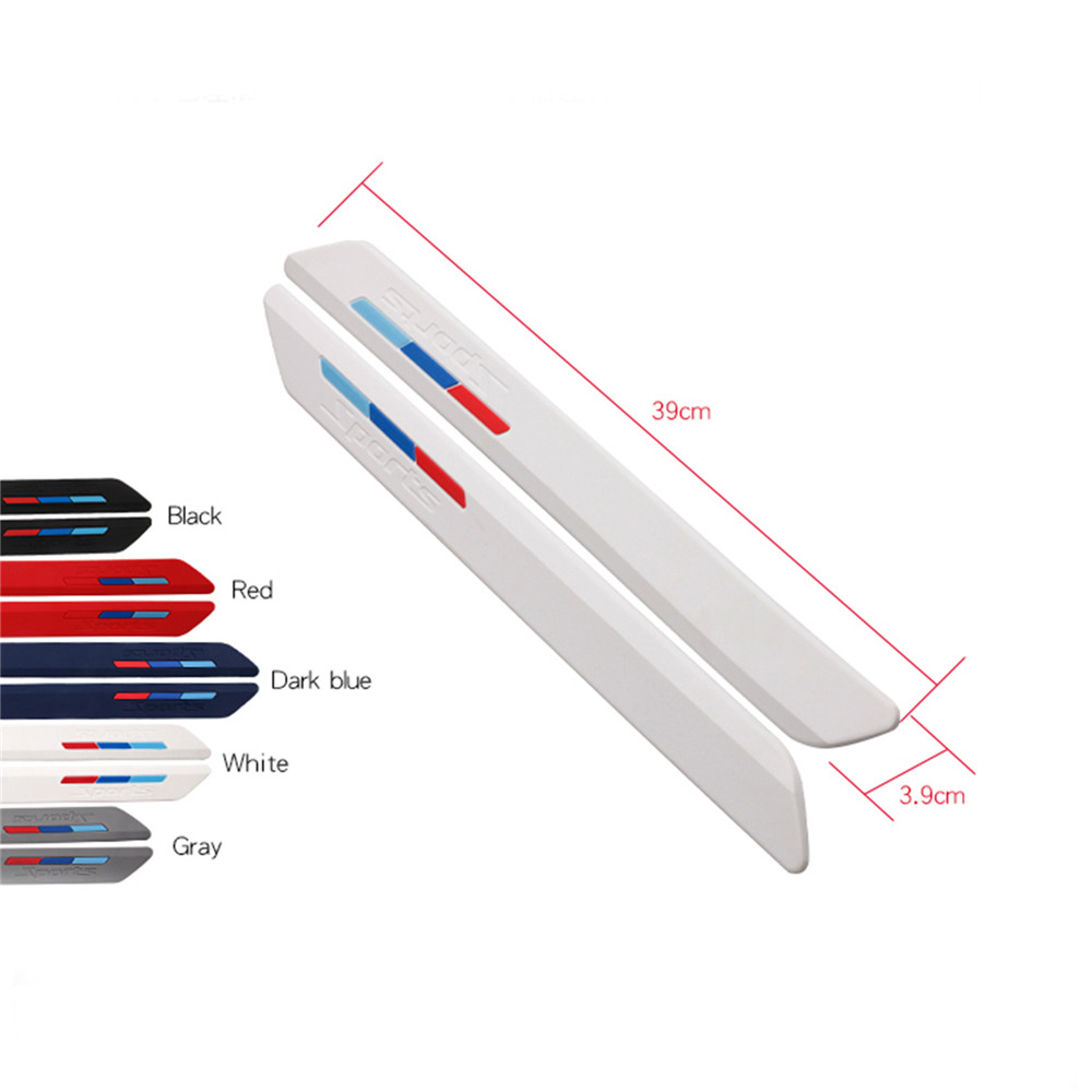 Silicone Anti-collision Bar Strip For Niu M1 N1 N1S And Other Universal Type Electric Scooters Potection Bumper Anti-scratch Bar