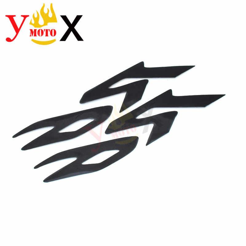 No logo For Yamaha YZF R6 2017 2018 2019 Combustible Tanque de la Motocicleta coj/ín Anti del resbal/ón R6 Pegatinas Grip Rodilla Calcoman/ías Secundarios