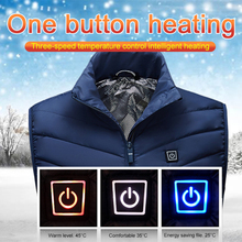Heated Vest USB Electric Vest Heated Vest Jacket Heating Vest Jacket Vest Veste Outdoor Equipment Jacket Warm Up Heating Pad cheap CN(Origin) Fits smaller than usual Please check this store s sizing info Polyester Thermal dropship 100 nylon 100 polyester