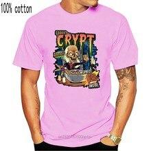 Camiseta de manga corta de The Crypt, camiseta de manga corta con estampado de galletas y cereales, de the Crypt, comics, horro, tv, caja de cereales