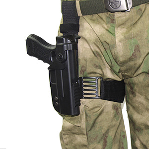 Image 5 - Tactical Gun Holster For Glock 17 19 22 23 26 31 Airsoft Pistol Drop Leg Holster combat Thigh gun Bag Case Hunting Accessories