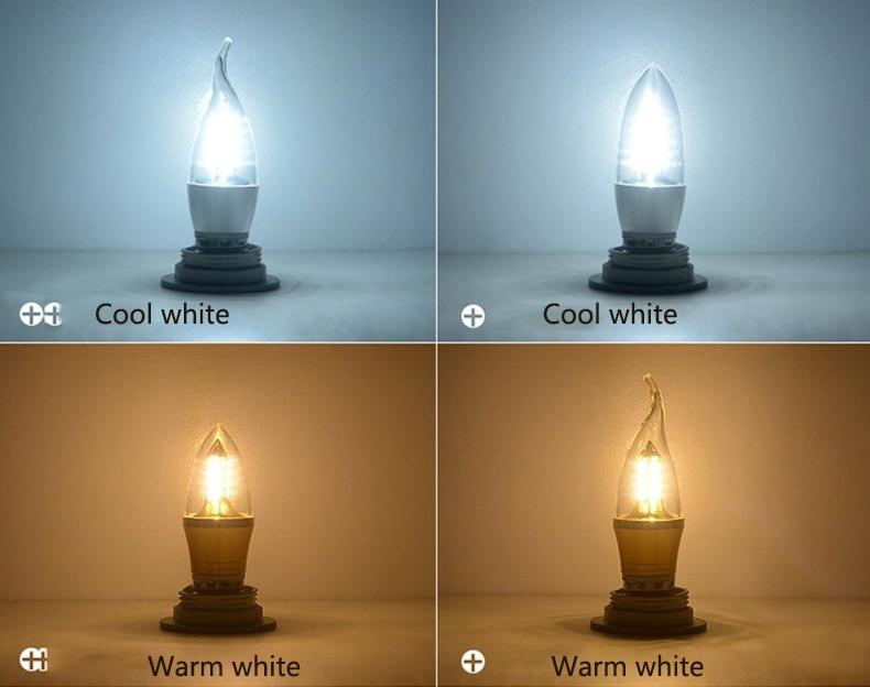 Yanghang led e14 lâmpada 220 v 5