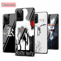 Black Cover death note kira for Samsung Galaxy S20Ultra S20 Plus Note 10 Lite A01 A11 A21 A51 A71 A81 A91 Phone Case
