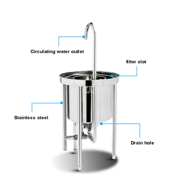 25kg Washing Capacity Automatic Stainless Steel Rice Washing Machine Commercial Large Water Pressure Rice Washer For Restaurant 3