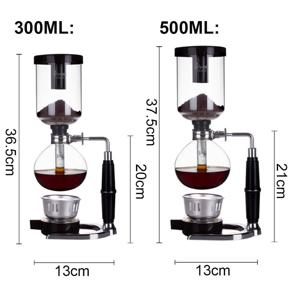 Siphon Coffee Maker 300/500ml 6