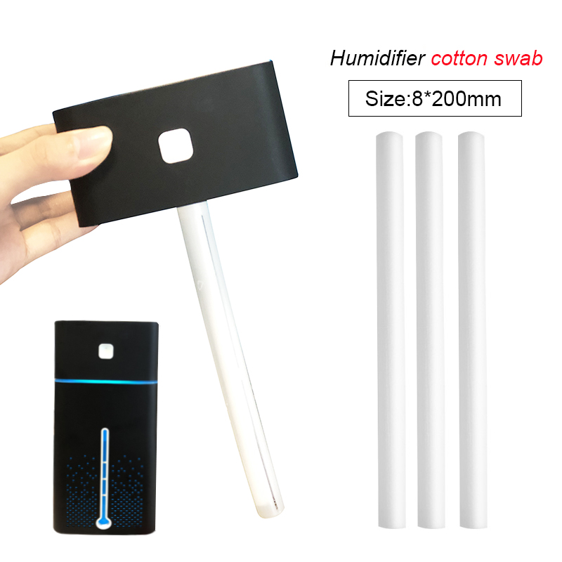 Air humidificateurs coton tige Filtre pour voiture Accueil humidificateur à ultrasons Mist Maker