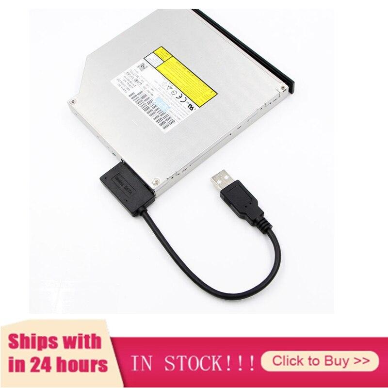 Новейший адаптер USB 2,0 для Mini Sata II 7 + 6 13Pin Кабель преобразователя для ноутбука DVD/CD ROM Slim Line Drive бесплатная доставка|Компьютерные кабели и разъемы|   | АлиЭкспресс